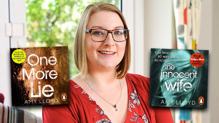 Amy Lloyd Interview: The Innocent Wife & One More Lie
