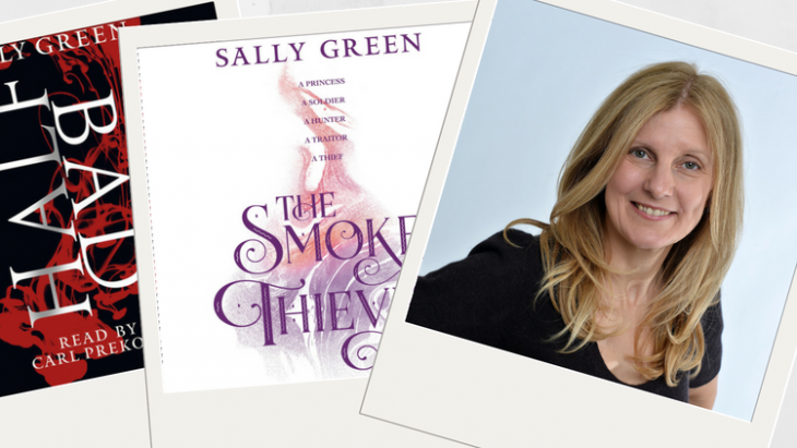Sally Green Interview: Half Bad, The Smoke Thieves, audiobooks and more!