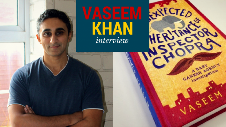 Interview: Vaseem Khan on elephants, India, and the fourth book in the Baby Ganesh Detective Agency series