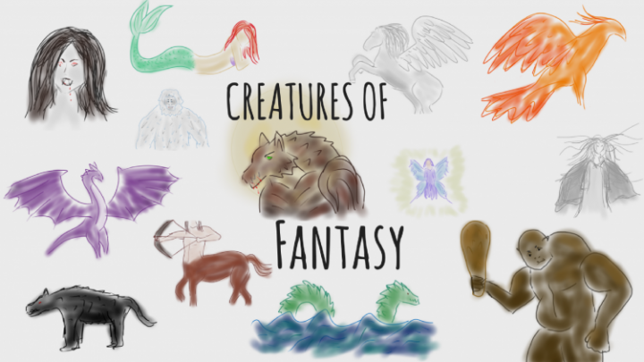 16 Mythical creatures and which books to find them in