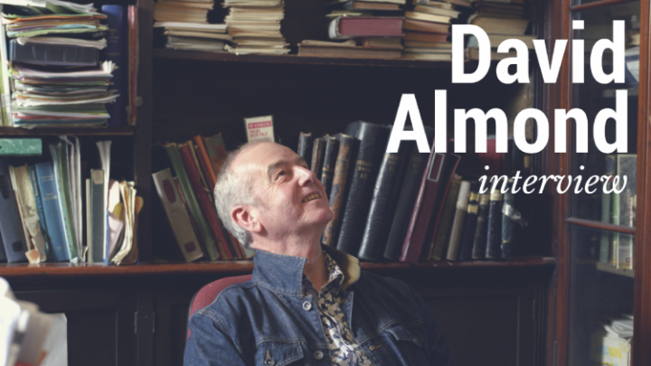 Interview: David Almond on narrating audiobooks, judging prizes, and tips for budding writers