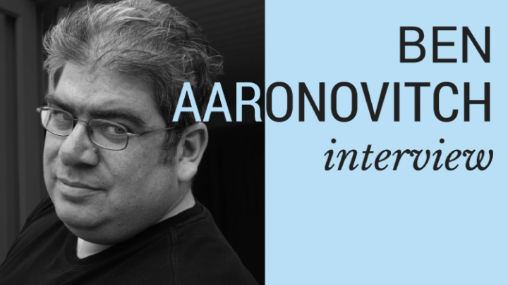 Interview: Ben Aaronovitch on audiobooks, libraries and his Rivers of London series