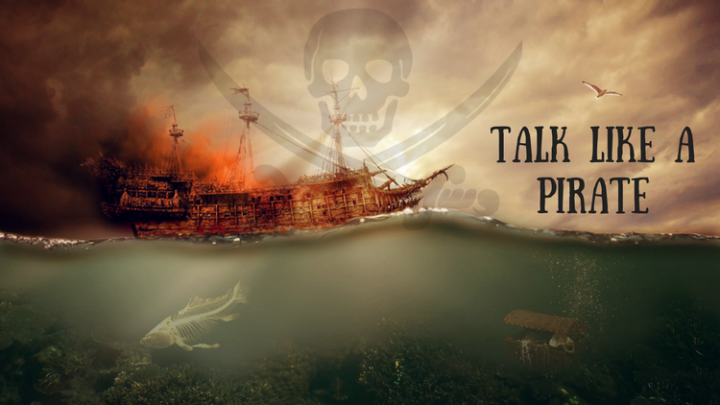 Talk Like a Pirate Day is a thing and these books will give you all the lingo