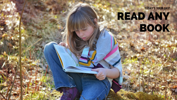 Read a Book Day: which one will you choose?