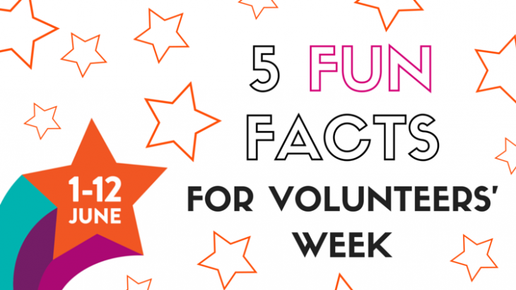5 Fun Facts about Volunteering and Volunteers