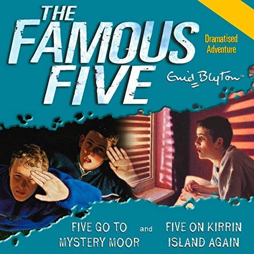 Five Go To Mystery Moor & Five On Kirrin Island Again Cover