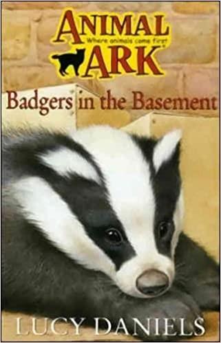 Animal Ark: Badger In the Basement Cover