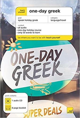 Teach Yourself: One-day Greek Cover