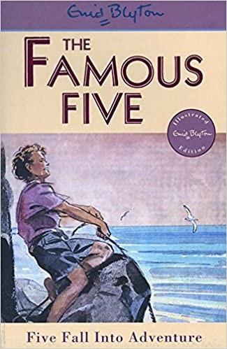 Five Fall Into Adventure Cover
