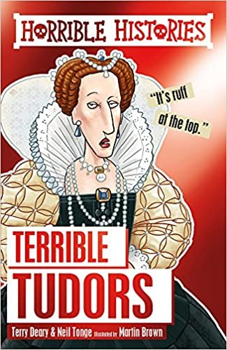 Horrible Histories: The Terrible Tudors and the Vile Victorians Cover
