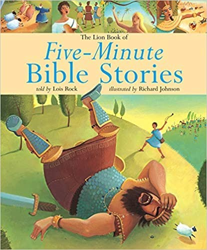Five-minute Bible Stories Cover