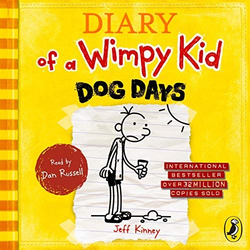 Diary of A Wimpy Kid: Dog Days Cover