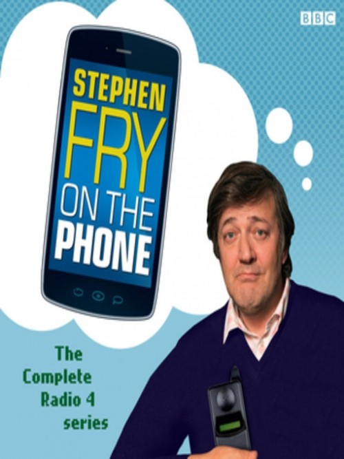 Stephen Fry On the Phone Cover