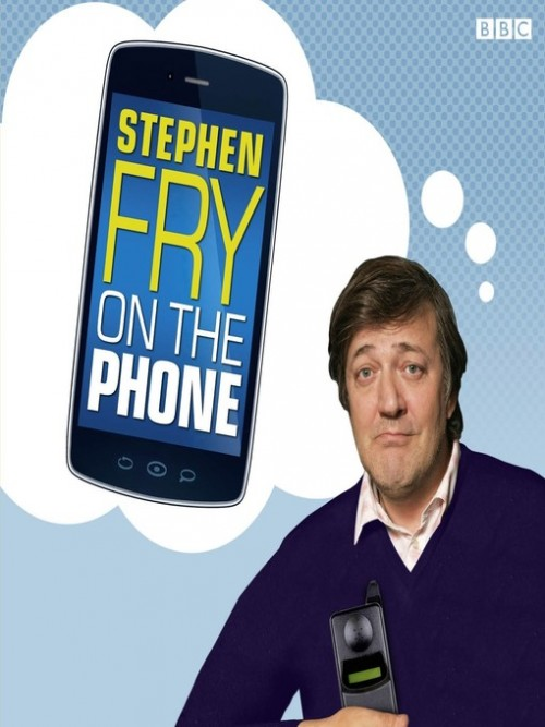 Stephen Fry On the Phone, Shrinking the Handset Cover