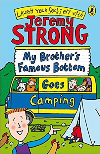 My Famous Brother's Bottom Goes Camping Cover