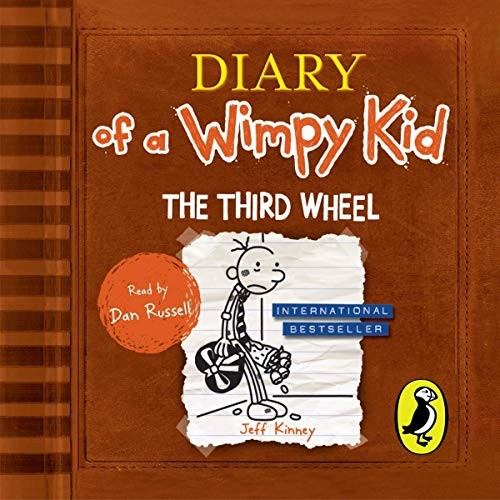 Diary of A Wimpy Kid: The Third Wheel Cover