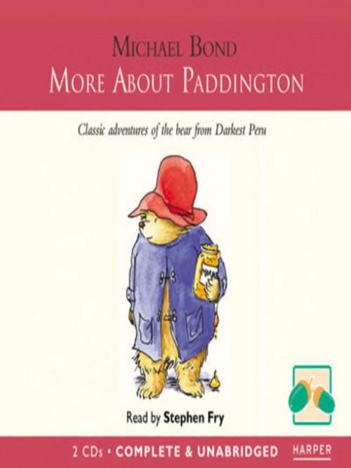 Paddington Book 2: More About Paddington Cover