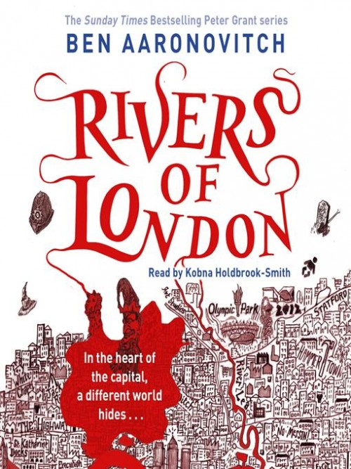 Rivers of London Book 1 Cover