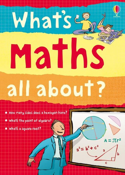 What's Maths All About? Cover