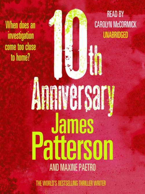 Women's Murder Club 10: 10th Anniversary Cover