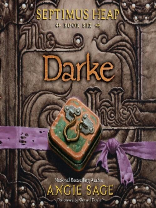 Septimus Heap 6: Darke Cover