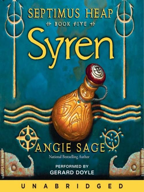 Septimus Heap 5: Syren Cover
