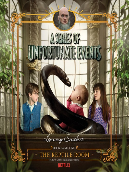 A Series of Unfortunate Events Book 2: The Reptile Room Cover