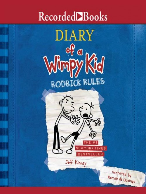 Diary of A Wimpy Kid Book 2: Rodrick Rules Cover