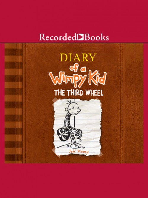 Diary of A Wimpy Kid Book 7: The Third Wheel Cover