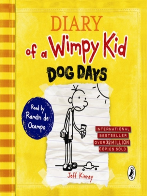Dog Days (diary of A Wimpy Kid Book 4) Cover