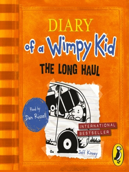 The Long Haul (diary of A Wimpy Kid Book 9) Cover
