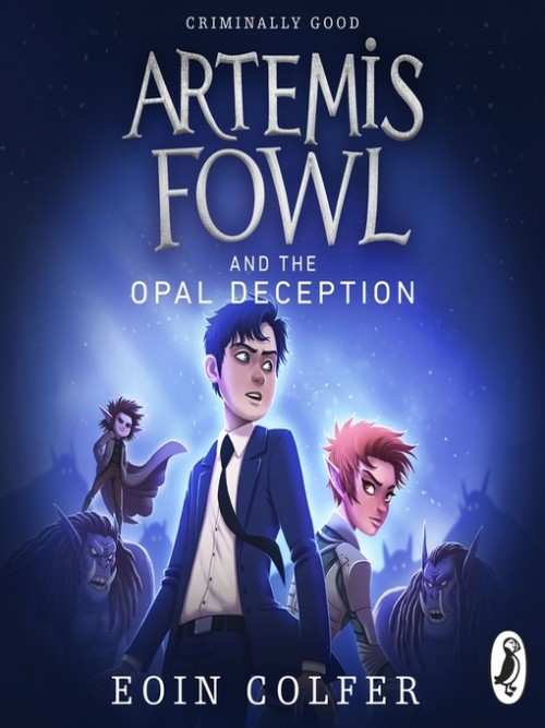 Artemis Fowl Series Book 4: Artemis Fowl and the Opal Deception Cover