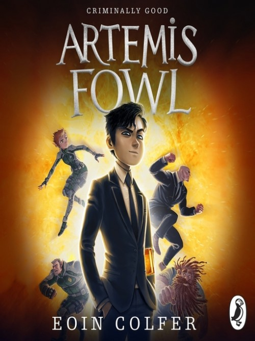 Artemis Fowl Series Book 1: Artemis Fowl Cover