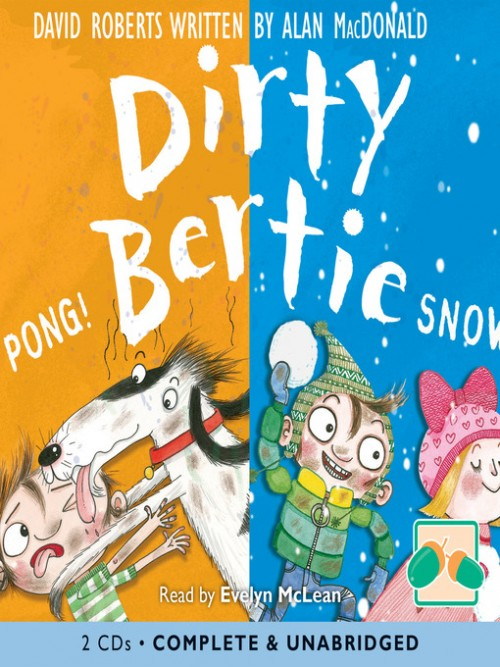 Dirty Bertie: Pong! & Snow! Cover