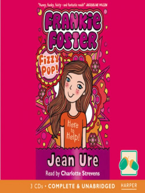 Frankie Foster Series Book 1: Fizzy Pop! Cover