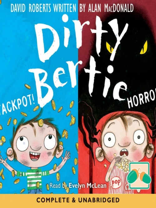 Dirty Bertie: Jackpot! & Horror! Cover