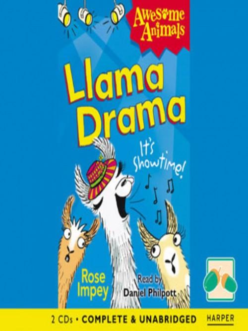 Llama Drama Cover