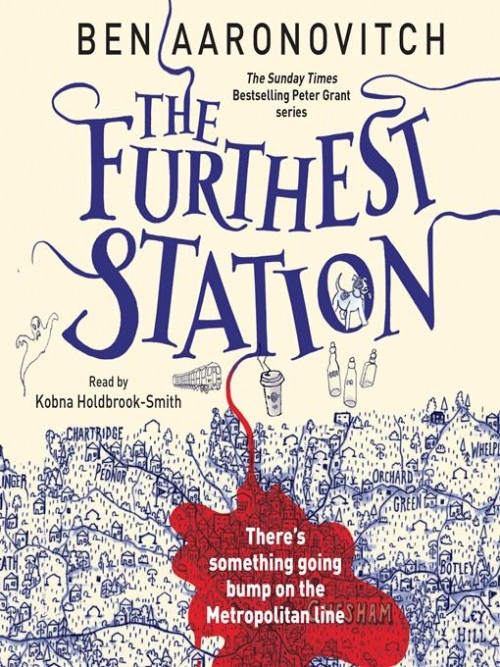 Rivers of London: The Furthest Station Cover