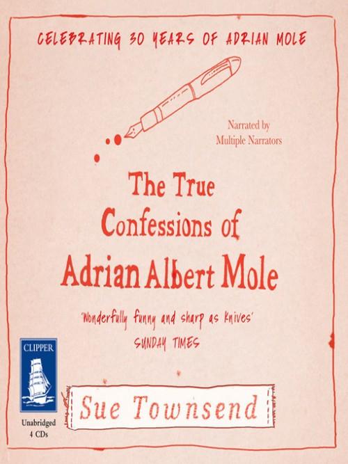 The True Confessions of Adrian Albert Mole Cover
