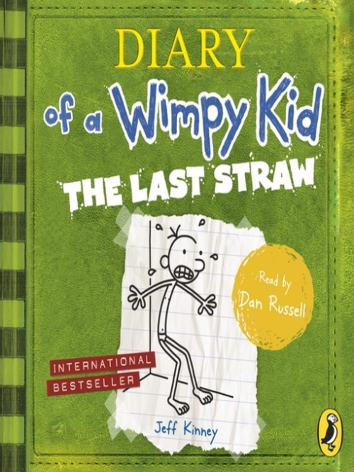 Diary of A Wimpy Kid Book 3: The Last Straw Cover