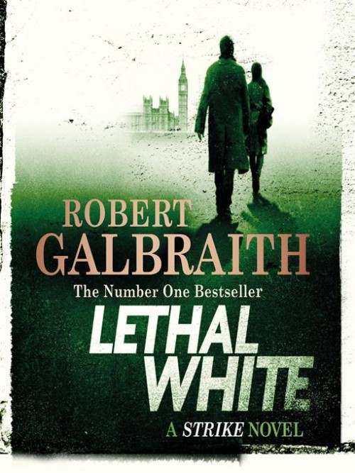 Cormoran Strike Series Book 4: Lethal White Cover