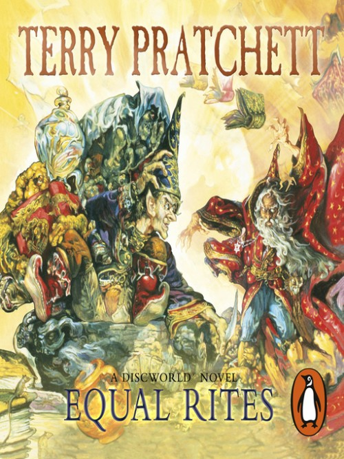 Discworld Series Book 3: Equal Rites Cover