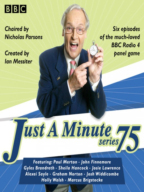 Just A Minute, Series 75 Cover