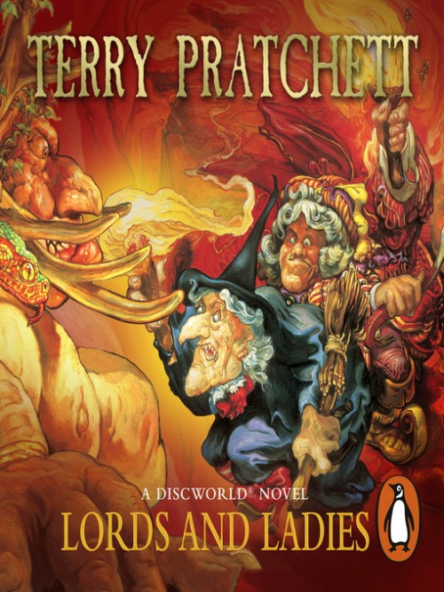 Discworld Series Book 14: Lords and Ladies Cover