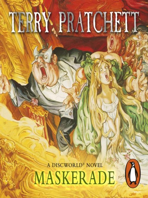 Discworld Series Books 18: Maskerade Cover