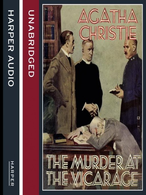 The Murder At the Vicarage Cover