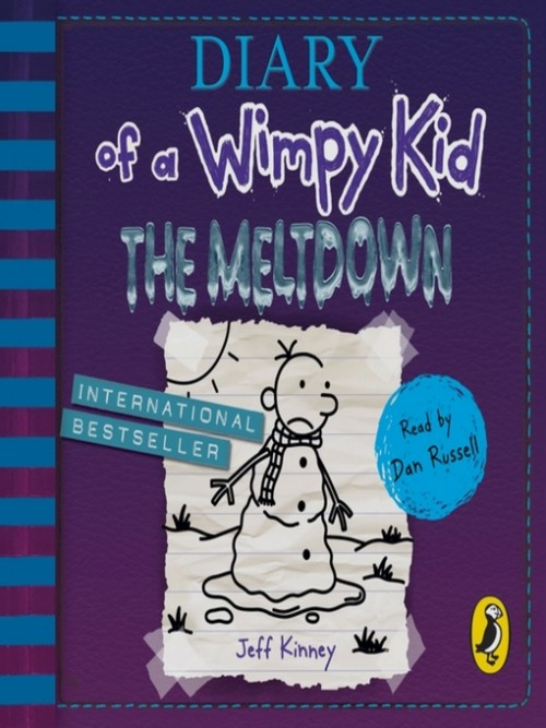 Diary of A Wimpy Kid Book 13: The Meltdown Cover