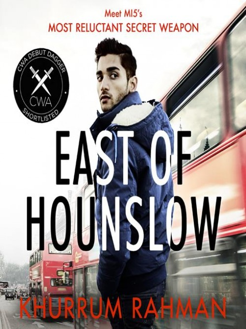 Jay Qasim Book 1: East of Hounslow Cover