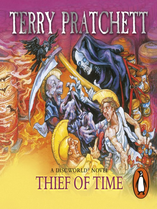 Discworld Series Book 26: Thief of Time Cover