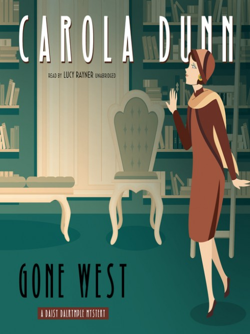 Daisy Dalrymple Book 20: Gone West Cover